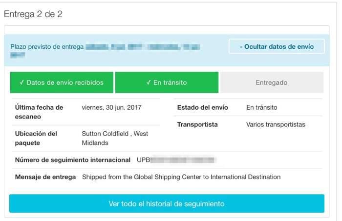 """Cómo funciona """"International Priority Shipping"""""""