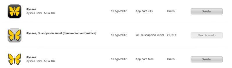 ¿Cómo puedes devolver una aplicación o suscripción en la app Store o en iTunes (Apple)?