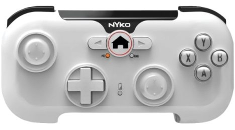 Nyko PlayPad Gamepad Android, PC Tableta Blanco - Volante/mando