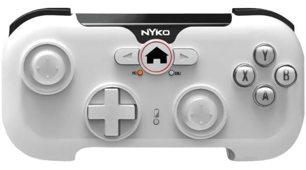 Nyko PlayPad Gamepad Android, PC Tableta Blanco - Volante/mando