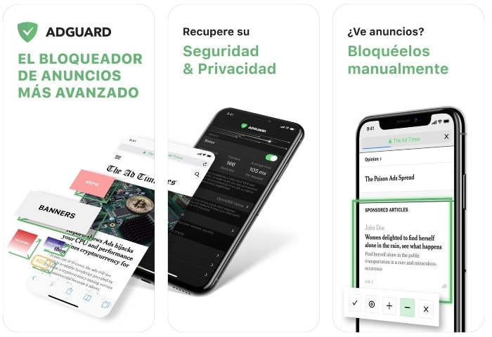 adguard app iphone