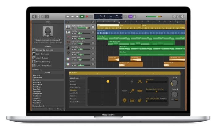 Programa perfecto para editar audio en Mac: GarageBand
