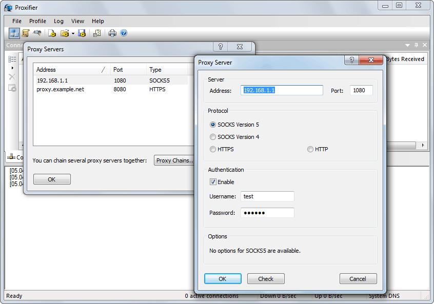 ¿Y qué pasa con los programas que no pueden usar un proxy? Proxifier
