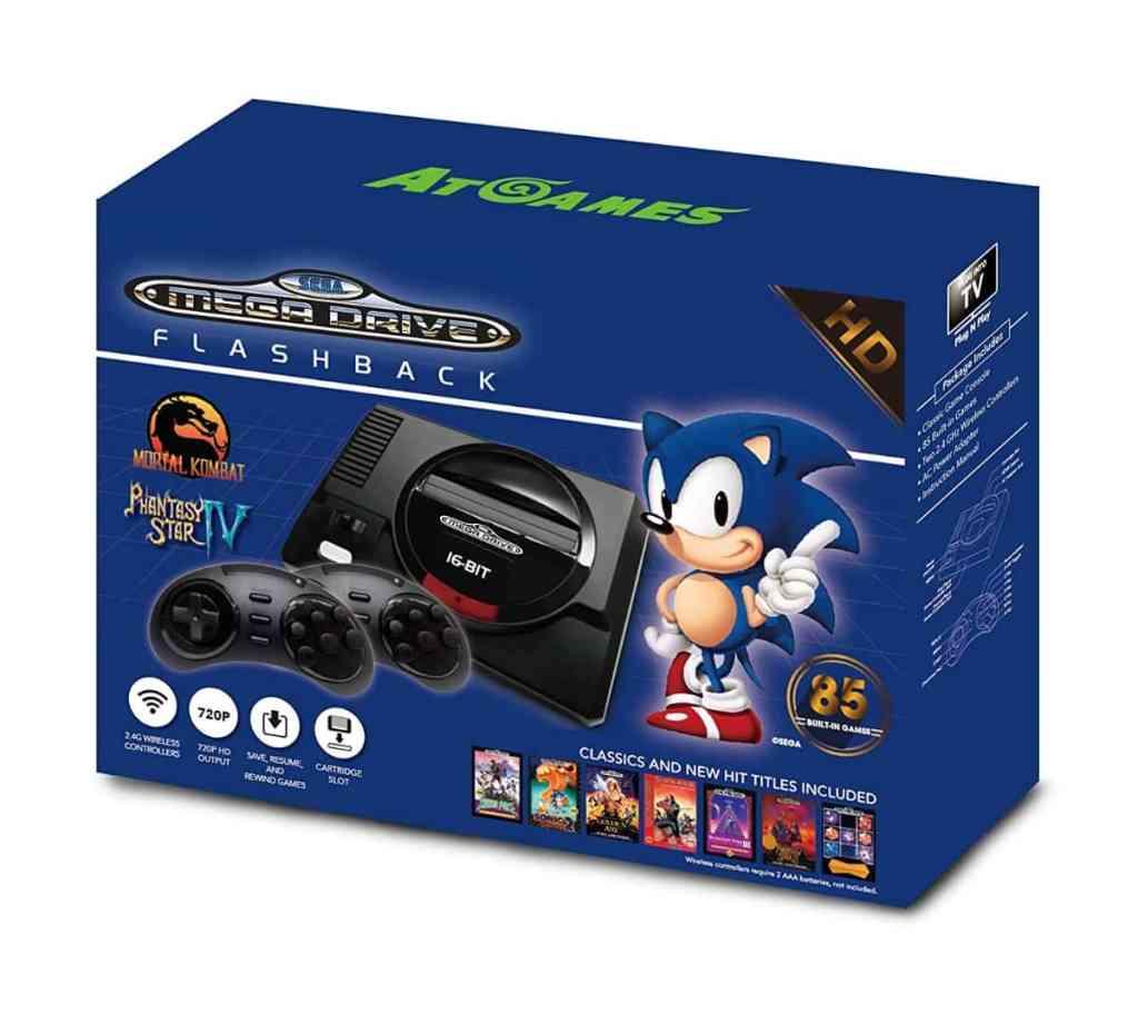 También puedes optar por comprar la nueva versión: Consola Retro Sega Mega Drive Wireless HD
