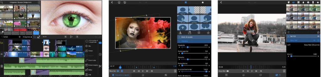 Edición de vídeos en el iPad: lumafusion