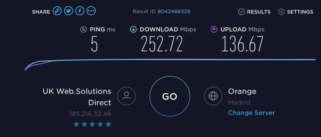 Opiniones NordVPN: servidor VPN en Madrid