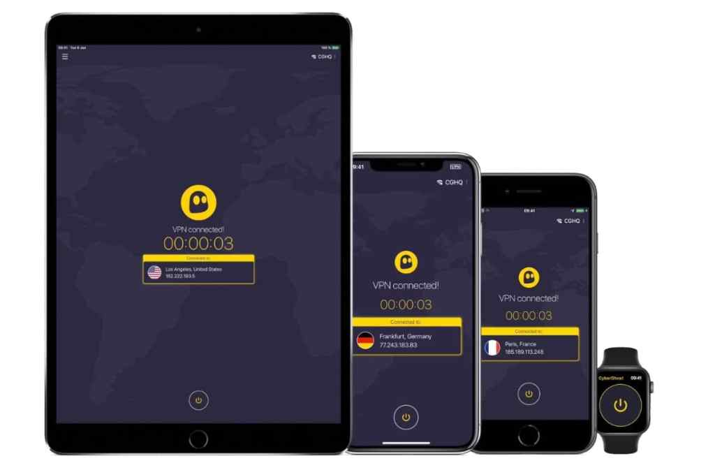 CyberGhost VPN: review y opinión apps iOS y Android