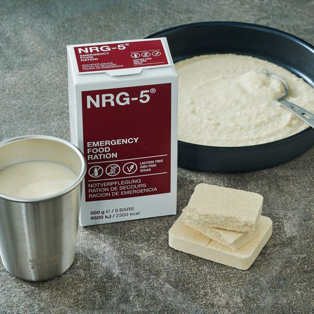 NRG-5 - Pastillas nutritivas de emergencia