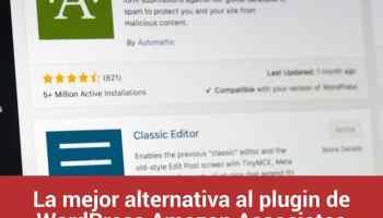 La mejor alternativa al plugin de WordPress Amazon Associates Link Builder (AALB): AAWP