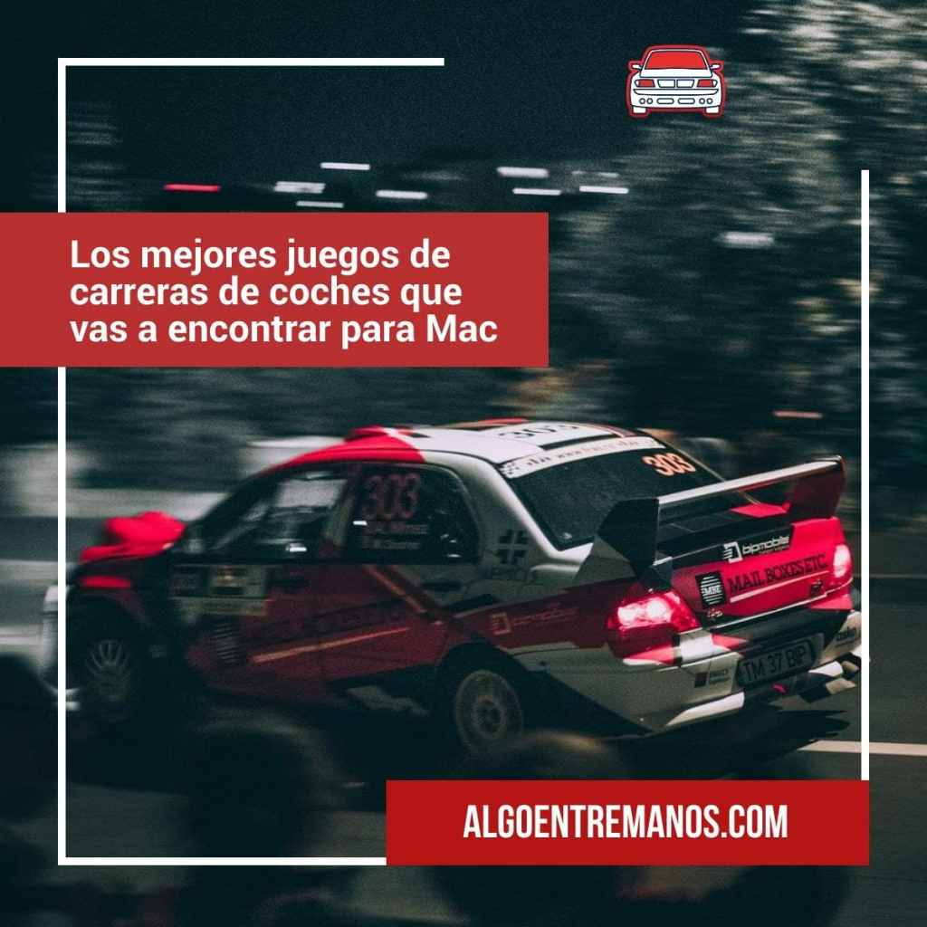 mejores juegos de carreras de coches que vas a encontrar en la Mac App Store