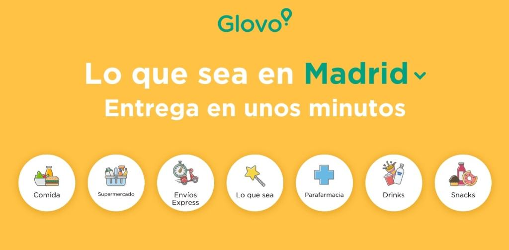 glovo madrid app