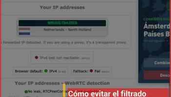 Cómo evitar el filtrado WebRTC: tu IP al descubierto en el navegador