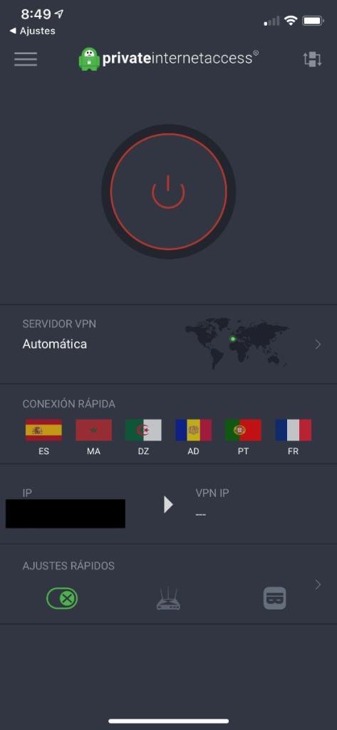 Private Internet Access (PIA VPN): app iOS