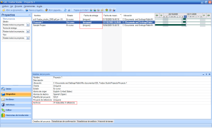 SDL Trados Project View