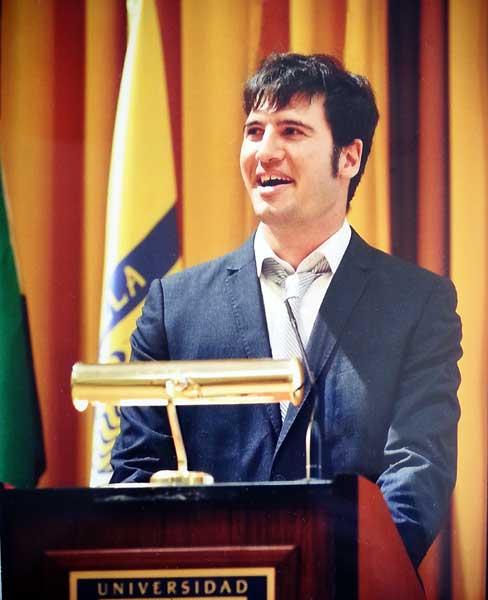 Pablo Muñoz Sánchez Graduación UPO