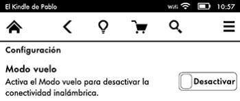 Amazon  Kindle traducción desactivar
