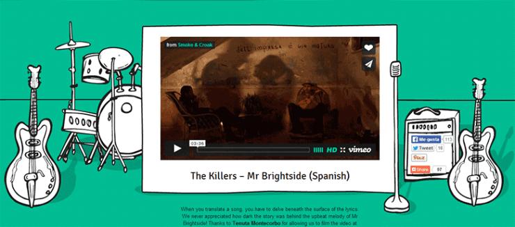Mr Brightside en español
