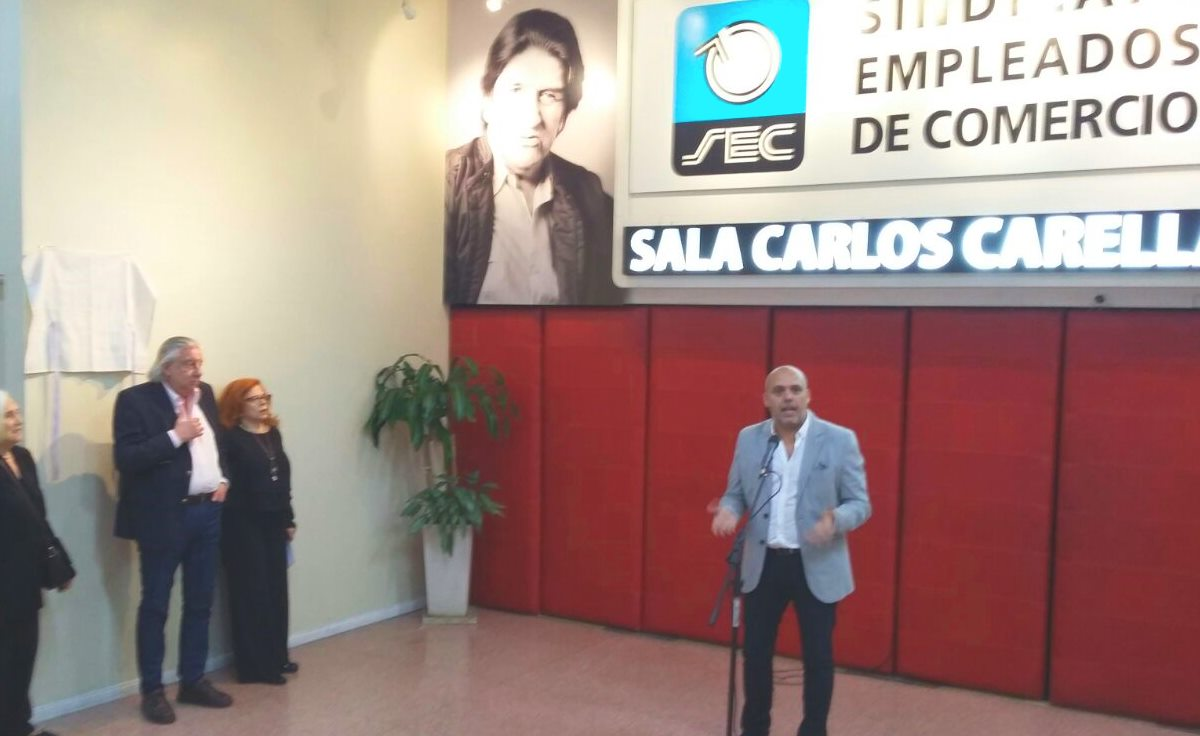 HOMENAJE AL ACTOR CARLOS CARELLA