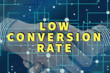 Low conversion rate
