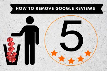 remove google reviews