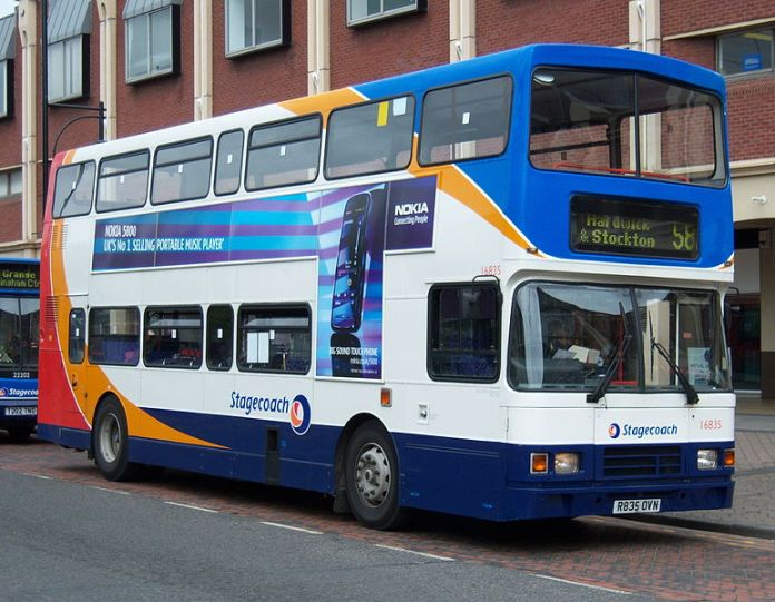 UK's Stagecoach to Test the First Self-Driving Bus