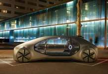 Renault Launches EZ-GO a robot-vehicle Concept Car