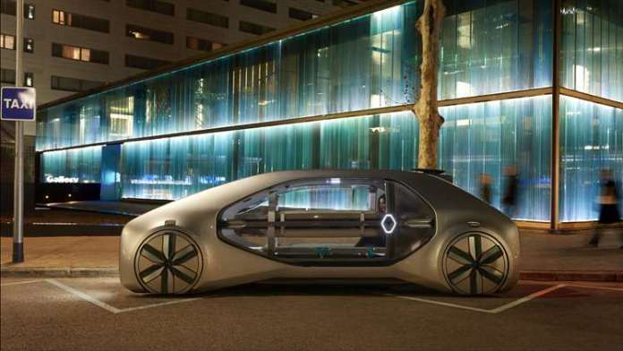 Renault Launches EZ-GO a robot-vehicle Concept Car