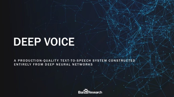 Baidu AI Research
