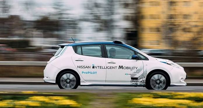 Nissan Renault Selfdriving Car