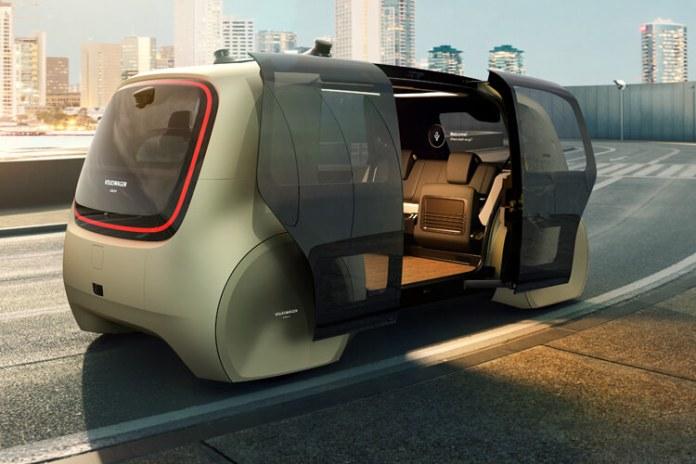 Volkswagen Serdic fully autonomous shuttle