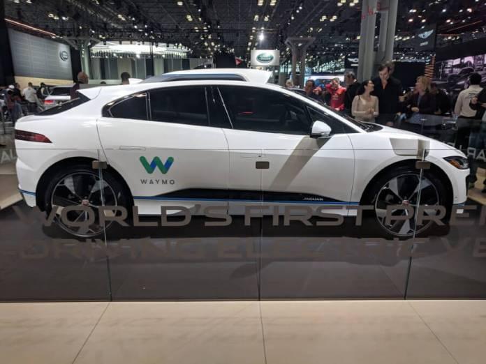 Waymo Jaguar I-Pace