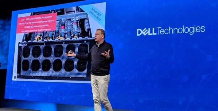 Dell-Graphcore AI chip IPU platform