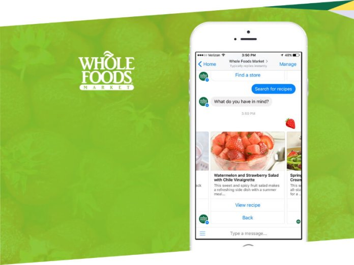 Chatbots - Whole Foods Chatbot