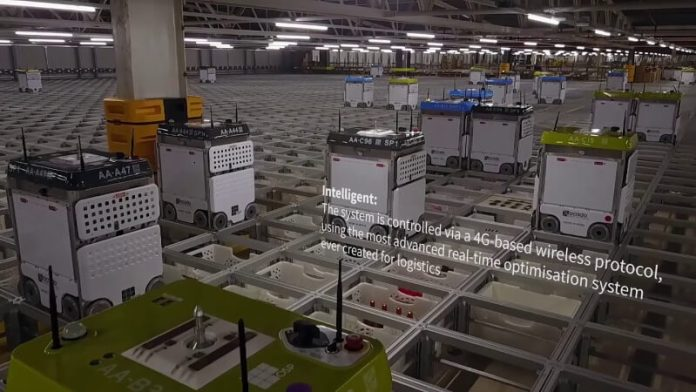 Ocado Smart warehouses utilises a host of AI technology including neural networks