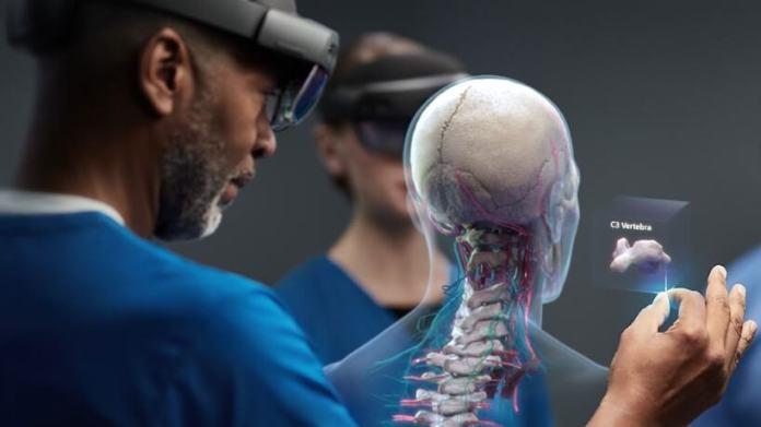 Microsoft's Augmented Reality HoloLens Smart Glasses