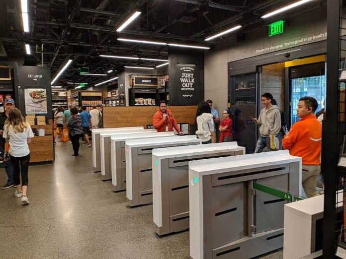 Amazon Go 'smart store' utilizes computer vision enabling a checkout less experience