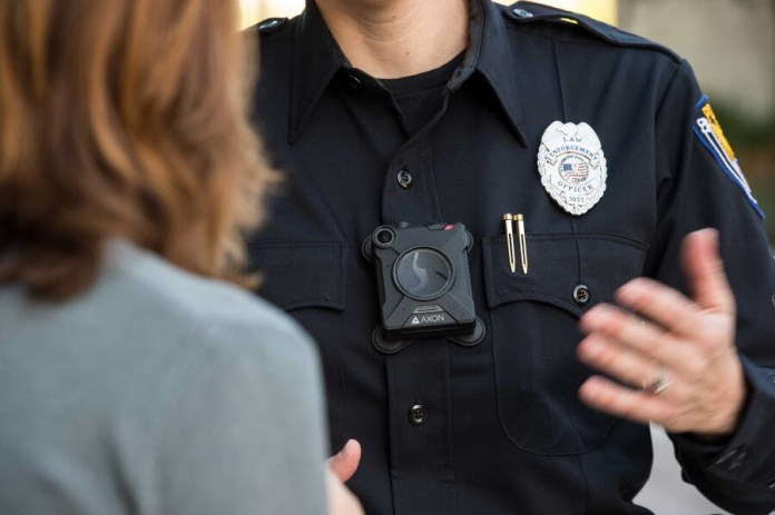 Axon Camera powered with computer vision enables police officers record imagery and audio