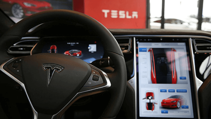 Tesla Autopilot with computer vision technology