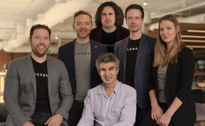 Element AI team includes Yoshua Bengio (seated), a pioneer in neural networks and deep learning
