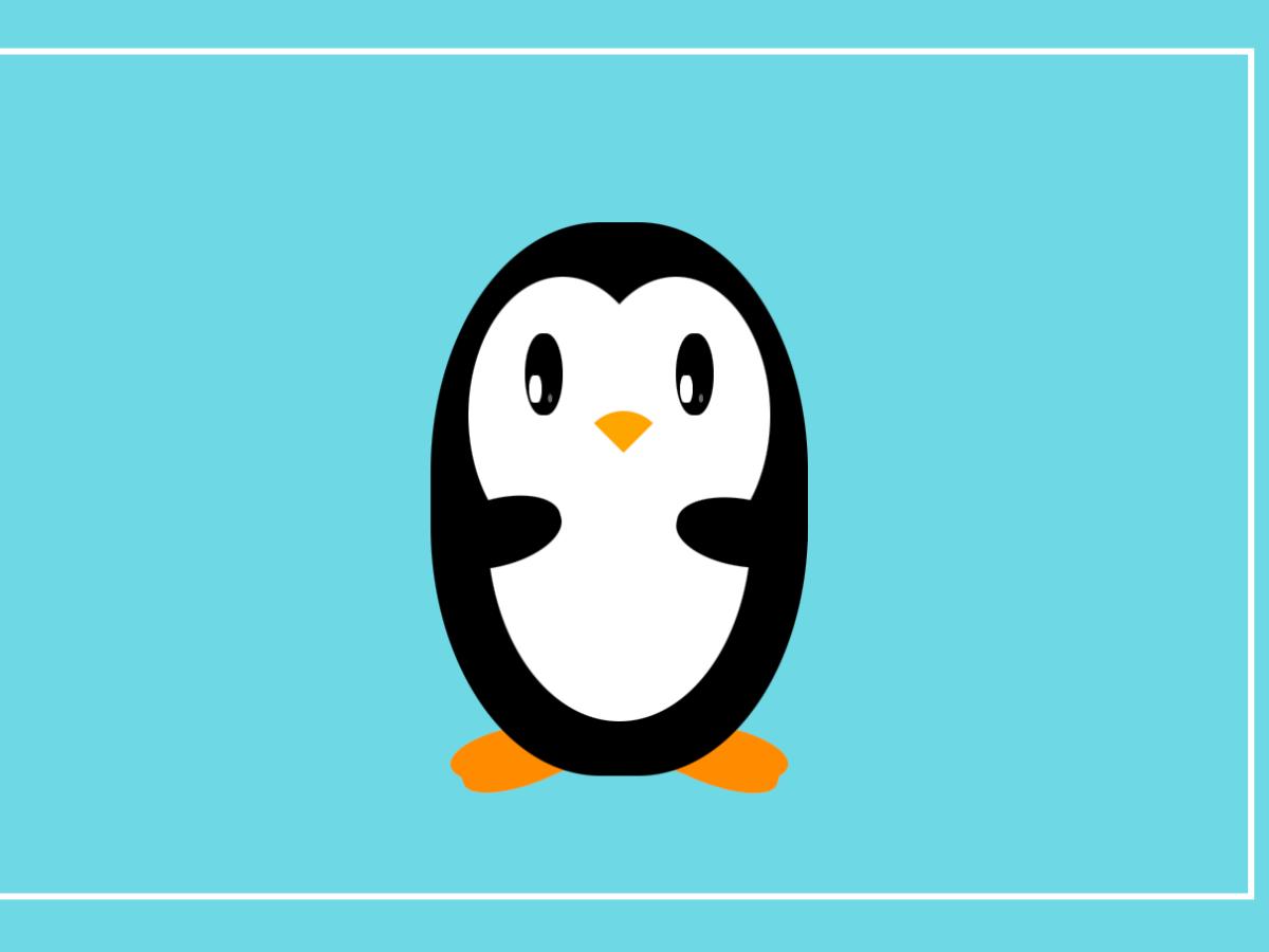 pure-css-penguin