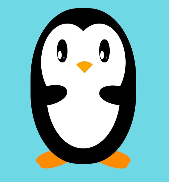 nice-css-penguin