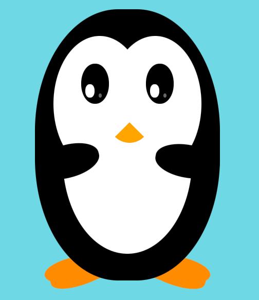 shy-penguin