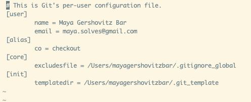 gitconfig-file