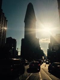 El Flatiron y el sol