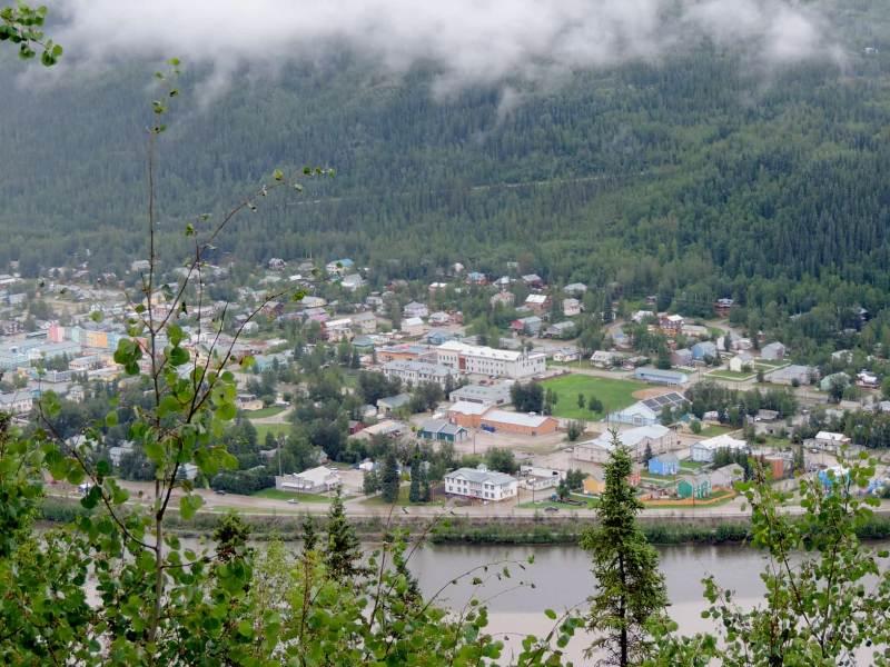 העיירה דאוסון ביוקון