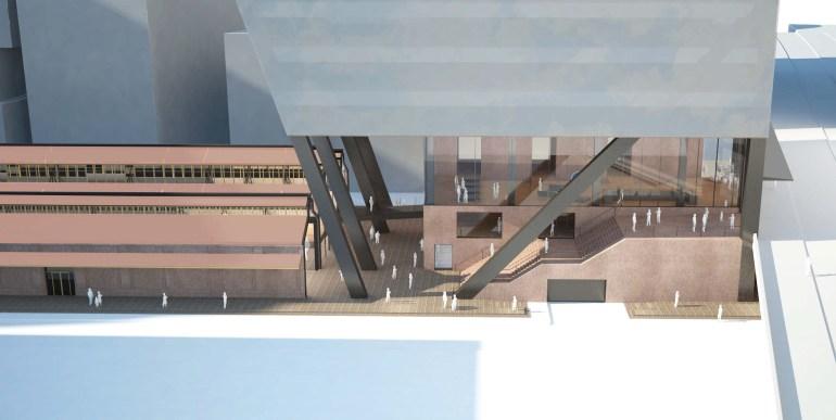 710 Collins Street_tower views- Melbourne Australia building - Docklands- Suleiman Alhadidi Computational Design