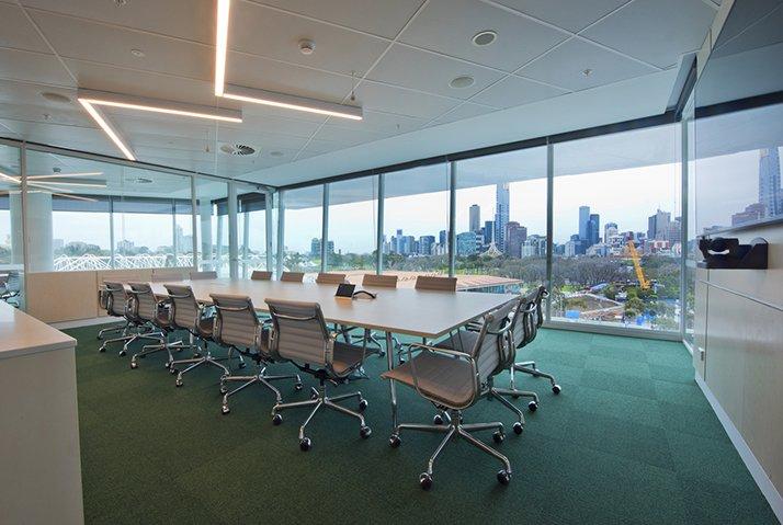 Admin & Media Building Melbourne Park- HASSELL - Suleiman Alhadidi