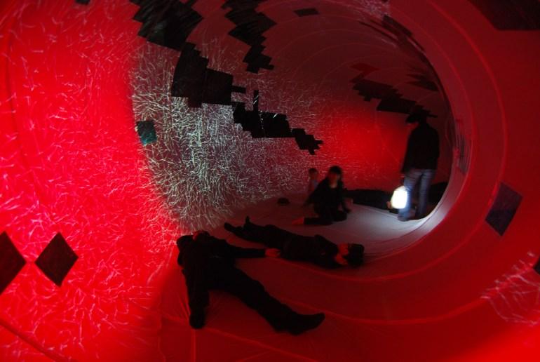 Performative-Architecture-interactive-installation-Suleiman-Alhadidi. Melbourne design awards, australia architecture, university of melbourne