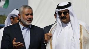 Qatari ruler's Gaza visit