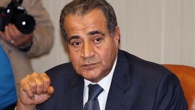 وزير التموين المصري علي المصلحي